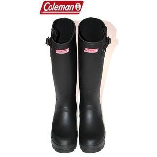 コールマン(Coleman)の正規品Colemanレインブーツ/ブラック/M/26.0cm~27.0cm(長靴/レインシューズ)