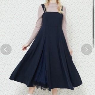 メゾンドフルール(Maison de FLEUR)の【未使用】メゾンドフルール*ジャンパースカート(ひざ丈ワンピース)