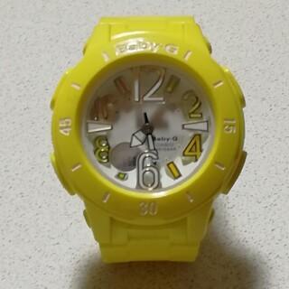 ベビージー(Baby-G)の最終お値引き☆CASIO ベビーG イエロー(腕時計)