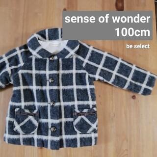 センスオブワンダー(sense of wonder)の[senseofwonder]センスオブワンダーチェック柄コート(コート)