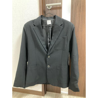 ビブジョー(VIBGYOR)のVIBGYOR メンズ テーラードジャケット M 美品 ブラック(テーラードジャケット)