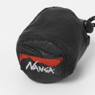 ナンガ(NANGA)のNANGA エコバッグ エンボスブラックベース 弱撥水加工(エコバッグ)