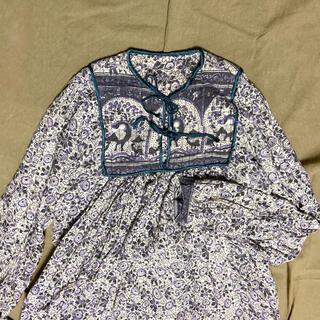 サンタモニカ(Santa Monica)のused インド綿ワンピース(ロングワンピース/マキシワンピース)
