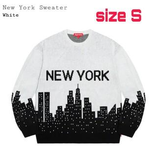 シュプリーム(Supreme)のSupreme NEW YORK Sweater  Sサイズ(ニット/セーター)