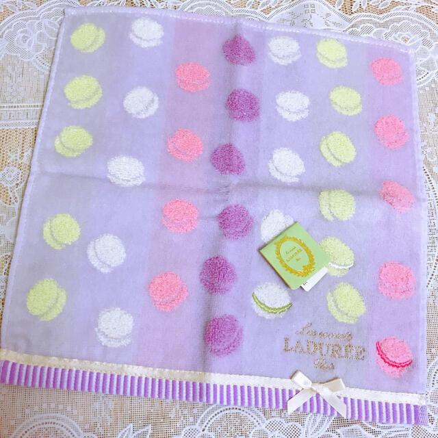 LADUREE(ラデュレ)の新品未使用 ハンカチタオル Laduree レディースのファッション小物(ハンカチ)の商品写真