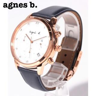 アニエスベー(agnes b.)の【美品35%OFF】アニエスベー 腕時計 白 箱・保証書付き(腕時計(アナログ))