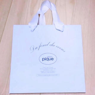 ジェラートピケ(gelato pique)のジェラートピケ 紙袋(ショップ袋)