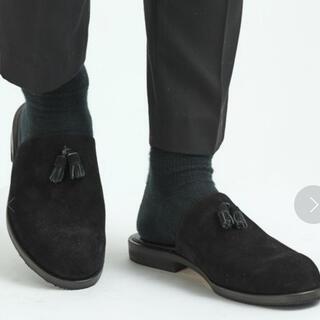ステュディオス(STUDIOUS)のtomo&co.tomotaka onozaki slipper 26.0(ドレス/ビジネス)