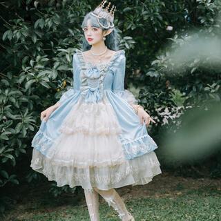 エレガント ヨーロッパ 西欧 宮廷 姫 花嫁ドレスアップ(衣装一式)