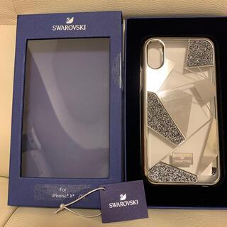 スワロフスキー(SWAROVSKI)のスワロフスキー携帯カバー(iPhoneケース)