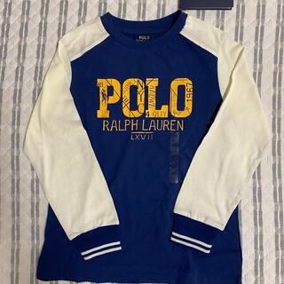 ポロラルフローレン(POLO RALPH LAUREN)のポロラルフローレン 長袖Tシャツ 120cm 新品タグ付き(Tシャツ/カットソー)