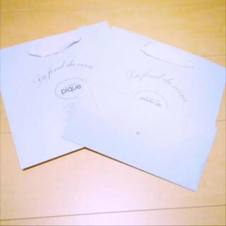 ジェラートピケ(gelato pique)のジェラートピケ  紙袋 2セット(ショップ袋)