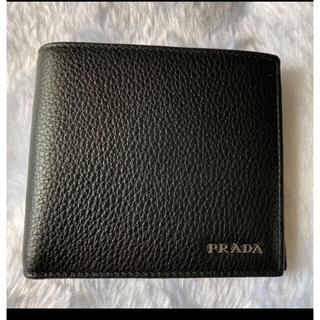 プラダ(PRADA)のPRADA プラダ 折りたたみ財布 二つ折り財布 小銭入れあり(折り財布)