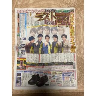 アラシ(嵐)のスポーツ報知 嵐 11月13日 新聞(印刷物)