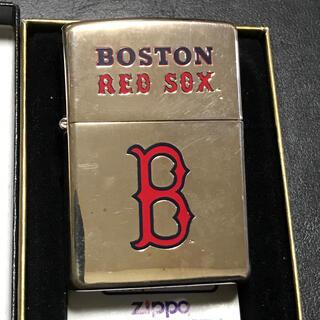 ジッポー(ZIPPO)のZippo MLB ボストンレッドソックス1998年(タバコグッズ)