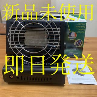 ポータブル ガス ヒーター ブラック(ストーブ/コンロ)