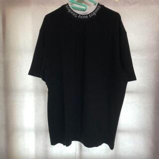 アクネ(ACNE)のAcne studios ネックロゴTシャツ(Tシャツ/カットソー(半袖/袖なし))