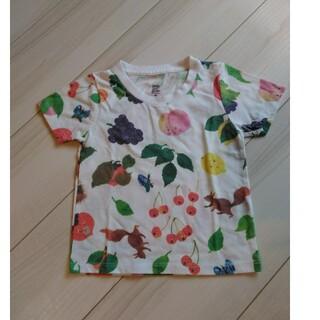 グラニフ(Design Tshirts Store graniph)のツペラツペラくだものさんTシャツ90★グラニフ(Tシャツ/カットソー)