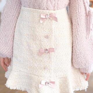 リズリサ(LIZ LISA)のリズリサ ツィードスカート(ミニスカート)