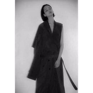サンシー(SUNSEA)のOversized Liner No Collar Coat(トレンチコート)