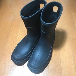 クロックス(crocs)のクロックス レインブーツ M10 ブラック(長靴/レインシューズ)