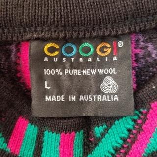 クージー(COOGI)のCOOGIAUSTRALIAクージー人気マルチカラー柔らかい100%ピュアウール(ニット/セーター)