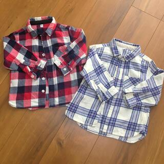 MUJI (無印良品) - 無印良品 フランネルシャツ セット