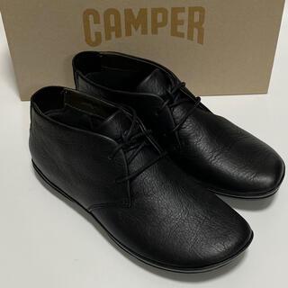 カンペール(CAMPER)の新品 Camper Right Nina カンペール ショートブーツ ブラック(ブーツ)