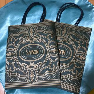 サボン(SABON)のサボン ショッパー 2枚セット(ショップ袋)