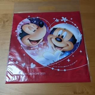 エヌティティドコモ(NTTdocomo)の2021非売品ドコモディズニーカレンダー(キャラクターグッズ)