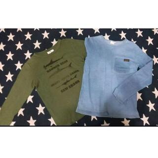 ジーンズベー(jeans-b)のジーンズベーセカンド 長袖Tシャツ 2枚セット 男の子 サイズ140cm(Tシャツ/カットソー)