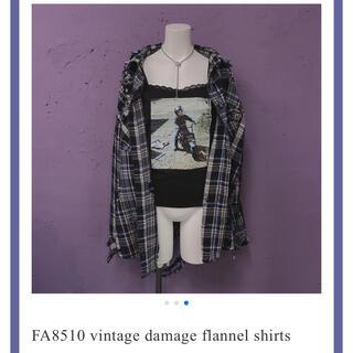 バブルス(Bubbles)のfaithtokyo damage flannel shirts(シャツ/ブラウス(長袖/七分))