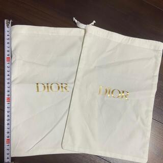 クリスチャンディオール(Christian Dior)の巾着袋(ポーチ)