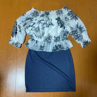 DURAS - ワンピース ドレス DURAS デュラス 花柄 スカート ミニ