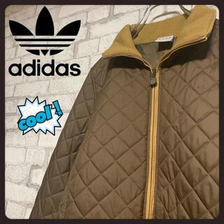 adidas - 【美品】adidas アディダス/キルティングコート ジャケット 刺繍ビッグロゴ