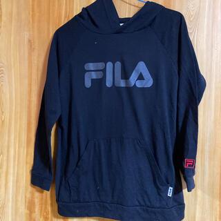 フィラ(FILA)のFILA Tシャツフード付き(Tシャツ(長袖/七分))