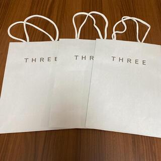 スリー(THREE)のTHREE ショップ袋(ショップ袋)