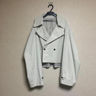 ジエダ(Jieda)のcropped trench jacket 韓国 トレンチジャケット(トレンチコート)