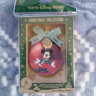 ディズニー(Disney)の2018 35周年 ディズニーランド クリスマス ミッキー メモ帳 メモセット(キャラクターグッズ)