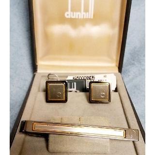 ダンヒル(Dunhill)のdunhillダンヒルネクタイピンカフスセット箱付(ネクタイピン)