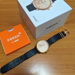 フォッシル(FOSSIL)のfossil q tailor ftw1128 ハイブリッド スマートウォッチ(腕時計)