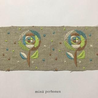 ミナペルホネン(mina perhonen)のミナペルホネン sand rose ハギレ 3d(生地/糸)