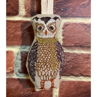 アッシュペーフランス(H.P.FRANCE)のコーラルアンドタスク オーナメント owl with trimmer(その他)