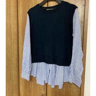 イッツデモ(ITS'DEMO)のイッツデモベストドッキングシャツ(シャツ/ブラウス(長袖/七分))