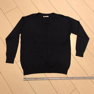 レトロガール(RETRO GIRL)のレトロガール トップス紺 Mサイズ(ニット/セーター)