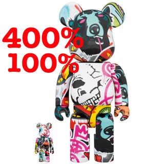メディコムトイ(MEDICOM TOY)のBE@RBRICK MISHKA 2020 100% 400%(その他)