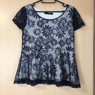 ミスティウーマン(mysty woman)のレーストップス値下げ(Tシャツ(半袖/袖なし))