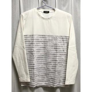 ブラックレーベルクレストブリッジ(BLACK LABEL CRESTBRIDGE)のブラックレーベル ホワイト ボーダーカットソー(Tシャツ/カットソー(七分/長袖))