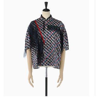 カラー(kolor)のkolor ラッフルシャツ(シャツ/ブラウス(半袖/袖なし))