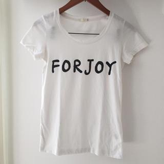 ジーユー(GU)のGU♡ロゴTシャツ(Tシャツ(半袖/袖なし))